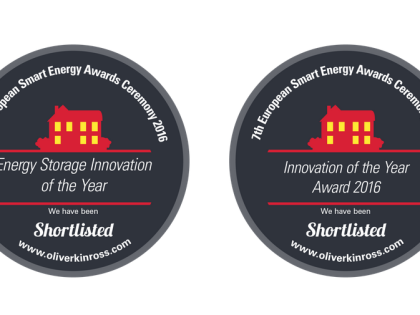 Encosys partecipa al Premio Smart Energy Uk & Europe 2016