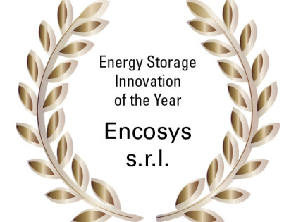 SEM: winner of Award Category Energy Storage Innovation of the year. London 2016